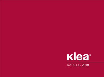 Katalog Klea